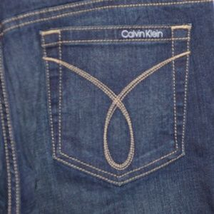 Calvin Klein womens flare jeans size 12 -4164-